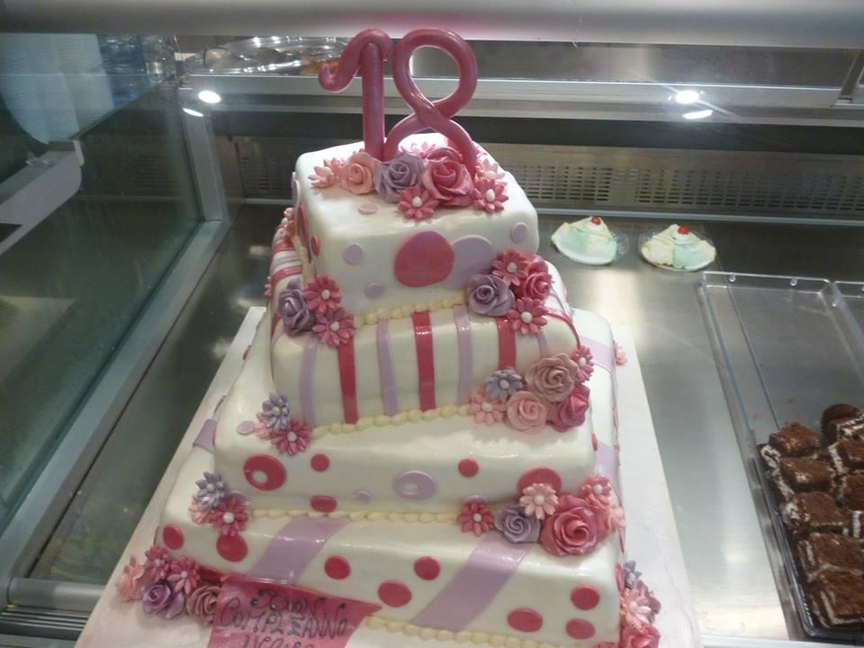Torte 18 Anni Pasticceria Impastato